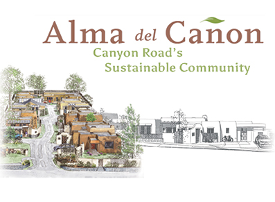 Alma del Cañon custom homes in Santa Fe